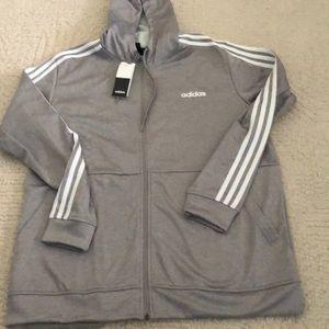 Adidas men's jacket size XL brand new